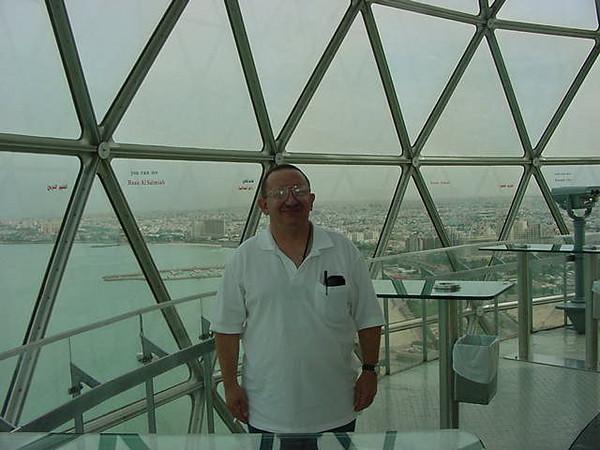Doug in the tower.JPG
