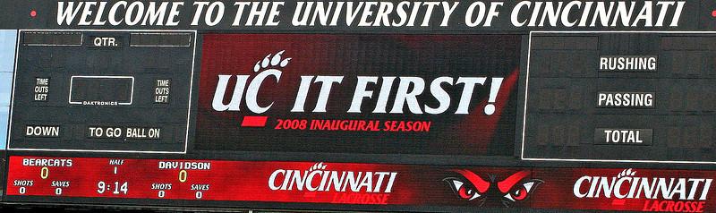 DavLax vs Cincinnati 2008