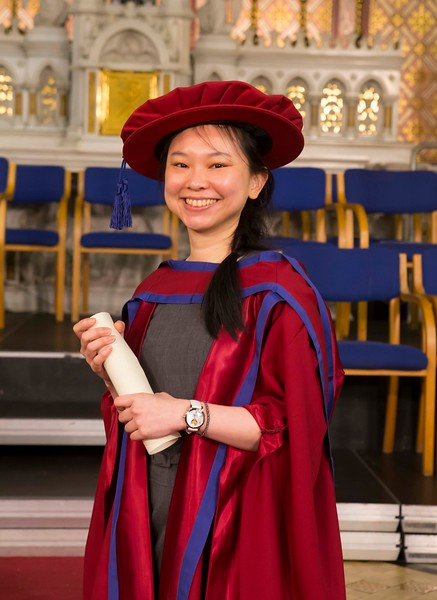 Waterford Institute Of Technology Conferring. Pictured at WIT Waterford Institute Of Technology Conferring is Shiau Pin Tan, Waterford who was conferred a Doctor of Philosophy. Picture: Patrick Browne