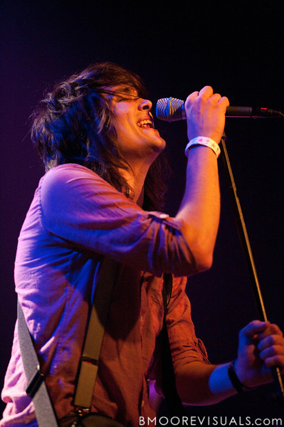 Sean Curran of Bellarive performs on March 18, 2010 at The Plaza Theatre in Orlando, Florida