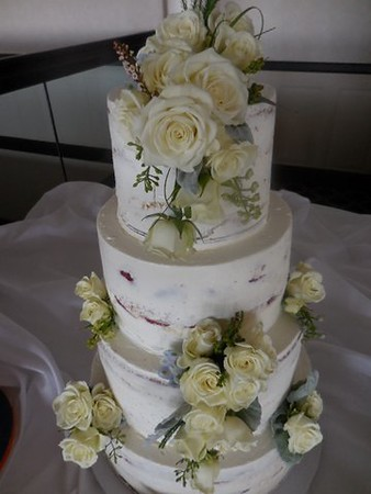 Cake flowers ( wired) $60
