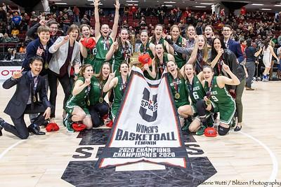 20-03-08 WBB Gold Medal Game:  Saskatchewan v Brock