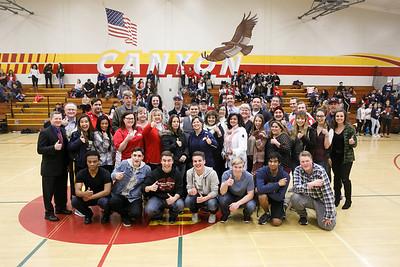RCS Boys' Varsity Basketball - Homecoming 2017