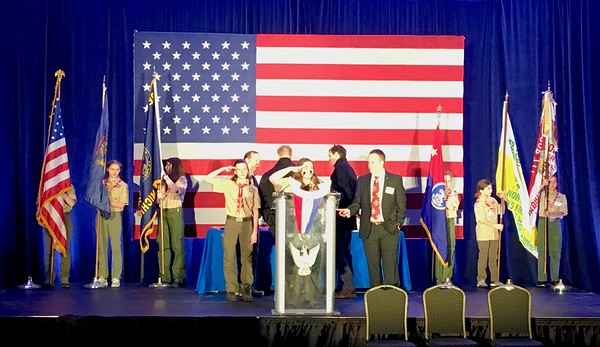 2019_02 Color Guard at Eagle Recognition