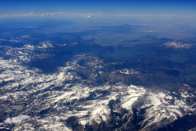 Flying Sierra Nevadas