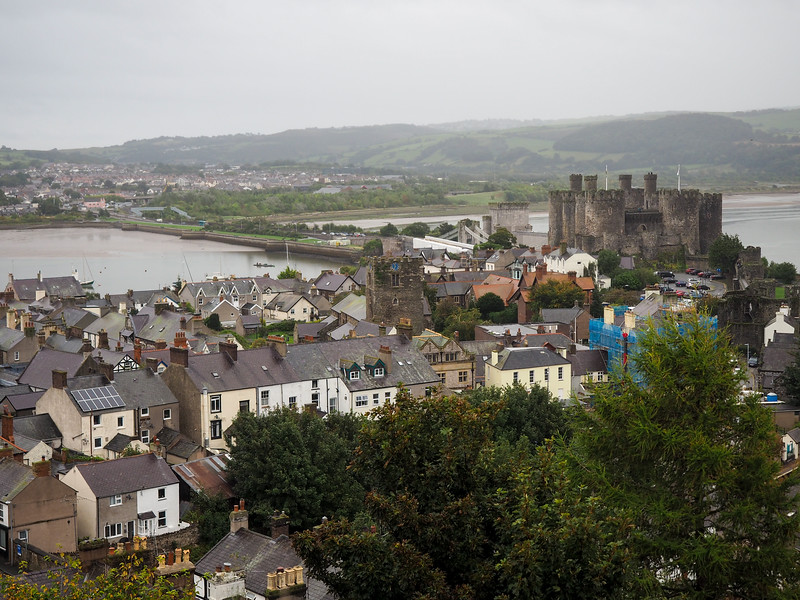 View from Conwy town walls