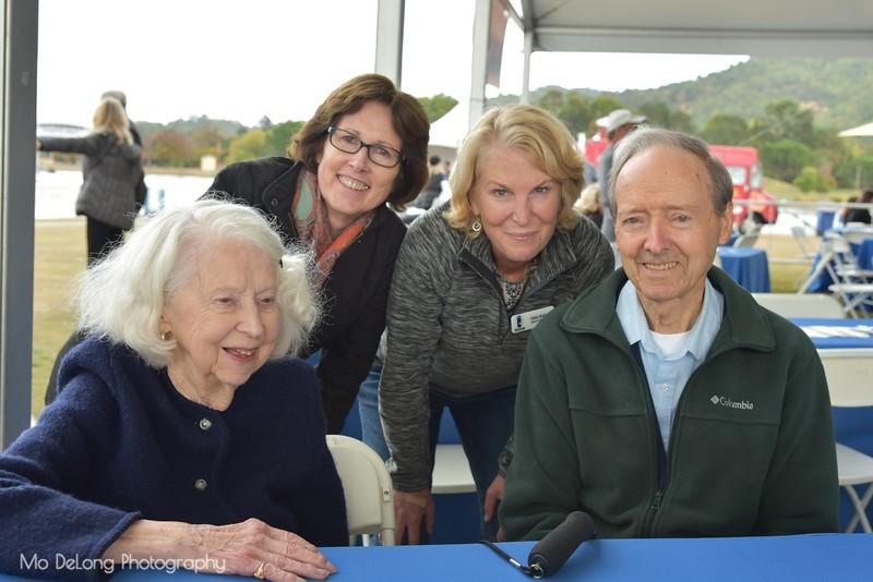 Inga Gilbraith, Beth Reizman, Fabia Butler and Lloyd Licher