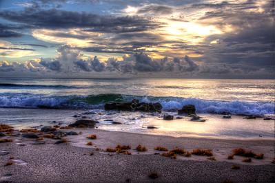 JUPITER FLORIDA  OCEAN SUNRISE