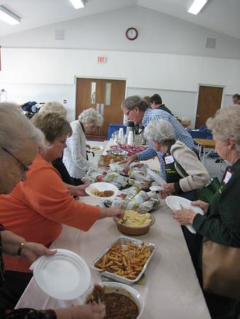 Dining at Church & Restaurants