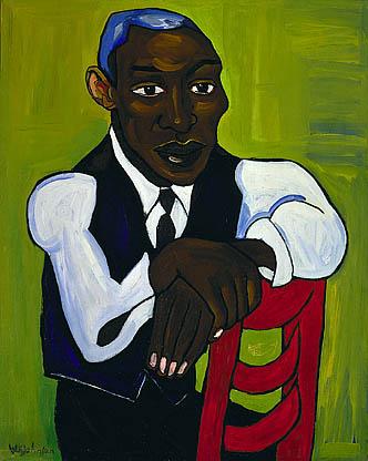 "William H. Johnson, ""Man in a Vest"" (1939-40)"