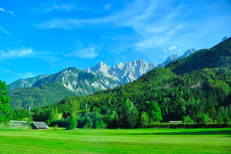 Julian Alps near Podkoren, Slovenia
