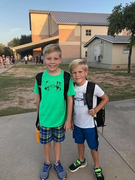 Henry and Oliver | 5th and 1st | Laura Welch Bush Elementary School