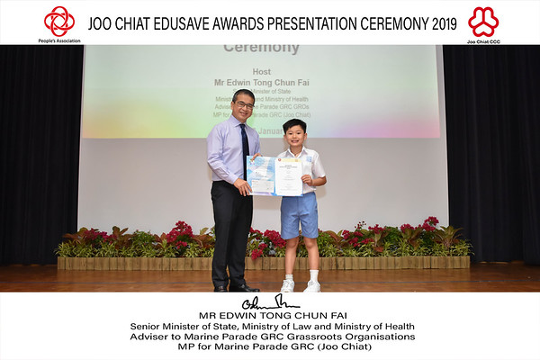 Joo Chiat Edusave Award AM Ceremony