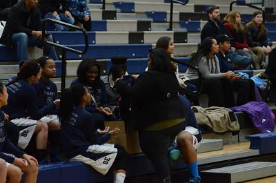 OE Girls Varsity Basketball Vs Plainfield Central 2014 Senior Night