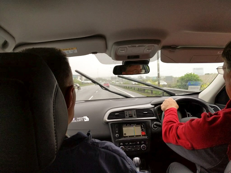The ONLY day of rain was our first day, driving to Adare after we landed