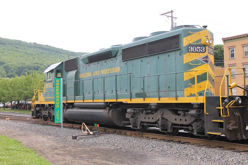 Train in Front of Train Station, Tamaqua, 6-26-2014 (19).JPG