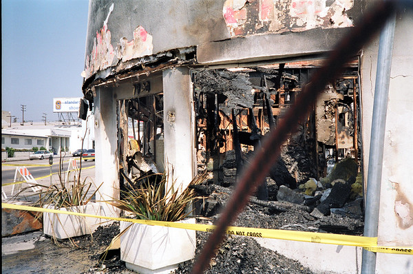 1992 Los Angeles Riot Damage