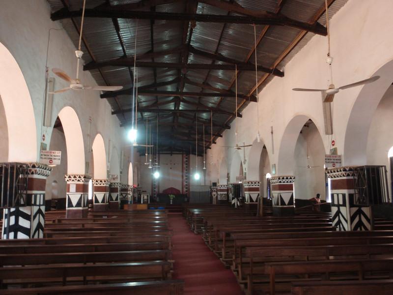 017_Navrongo. Church. Decorated in Traditional Kassena Style.jpg