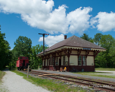 Merrimack Country NH Train Depots