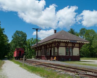 Merrimack Country NH Train Depots