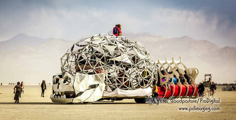 Another amazing art car