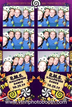 Photo Strips - 10/25/19 - RMS Halloween Dance