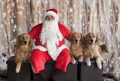 Santa at the Dog Ranch