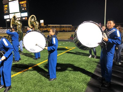 Plano West vs Plano (Nov 3 - West Cluster Band Night)
