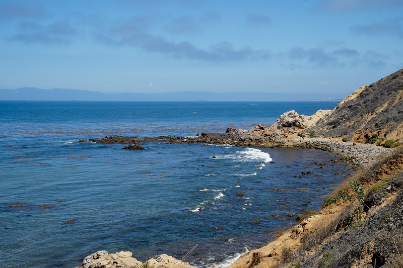 Off the coast of Palos Verdes, California.