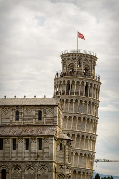 Day 7 - Florence (Pisa, Livorno) Italy