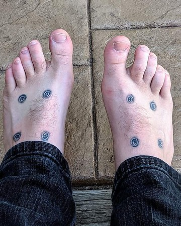 Skateboard tattoos