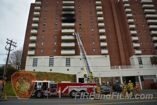 Luzerne County - Wilkes-Barre City - Hi-Rise Fire - 12/05/2017