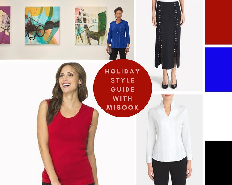 Enjoy the promo code: MSK9591. This is valid until the end of December across ALL of Misook's gorgeous site. Enter the holidays in fashion the way I am! #ad