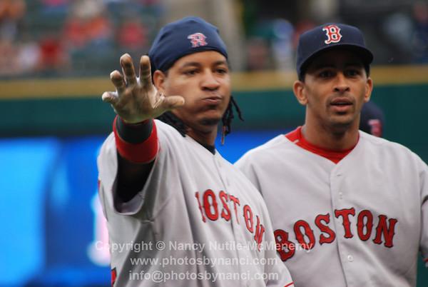 Indians  v Sox 2007