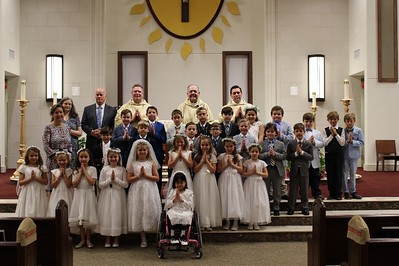 2019 May 4 First Communion