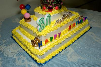 Gene's 80th Birthday Party.