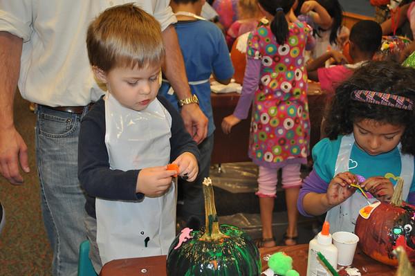 Pumpkin Painting Workshop 2012