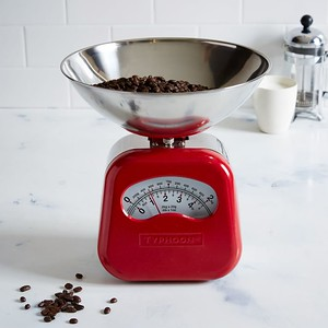 Vintage Red Scale. 50 Gifts for Food Lovers