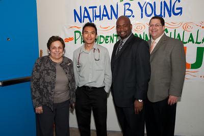 President Shalala visits Mobile Clinic - February 1, 2010