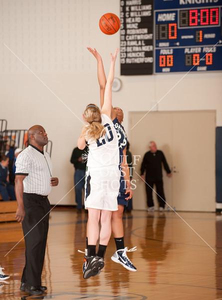 2011-02-11 Basketball Varsity Girls Oakridge v All Saints