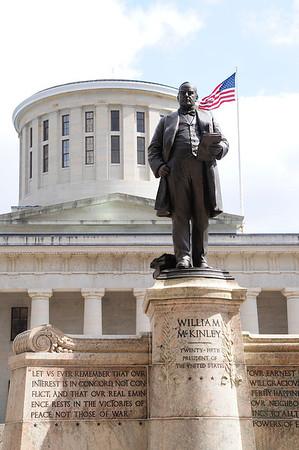 Ohio Statehouse in Columbus, Ohio