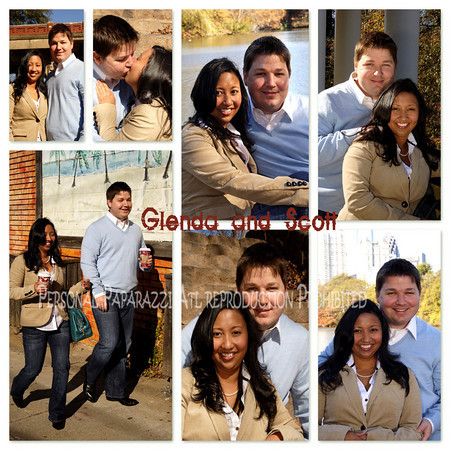 Gardere and Thompson - 2009 - Engagement Photos