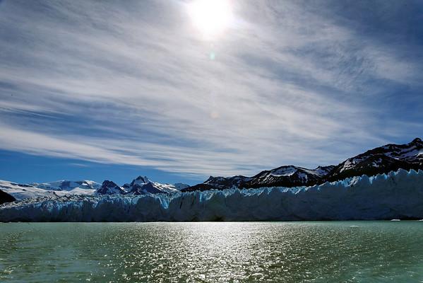 Le long du glacier Perito Moreno