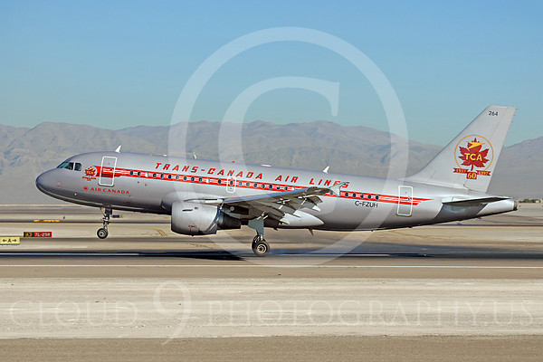 Airliners in Retro Color Scheme Markings