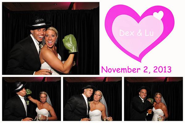 Lu & Dex Wedding Photo Booth