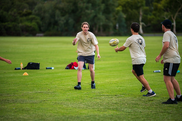 SAT PM - Mixed Touch Rugby