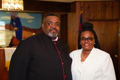 Pastor Murray at Pilgrim Rest M.B. Church
