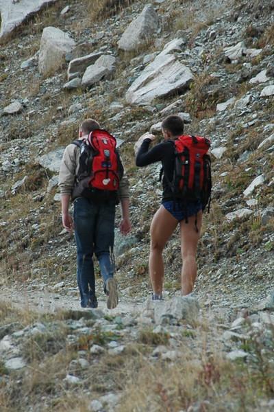 Hiking Without Pants - Almaty, Kazakhstan