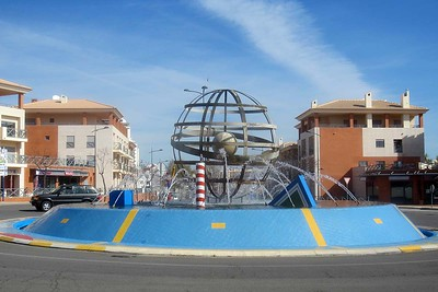 Albufeira and area roundabouts [Vivienne]