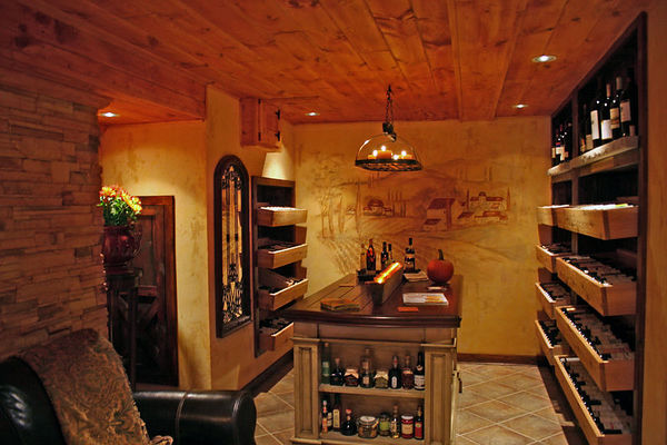 Home & Garden Wine Cellar of The Year (Patio Under The Stars)!